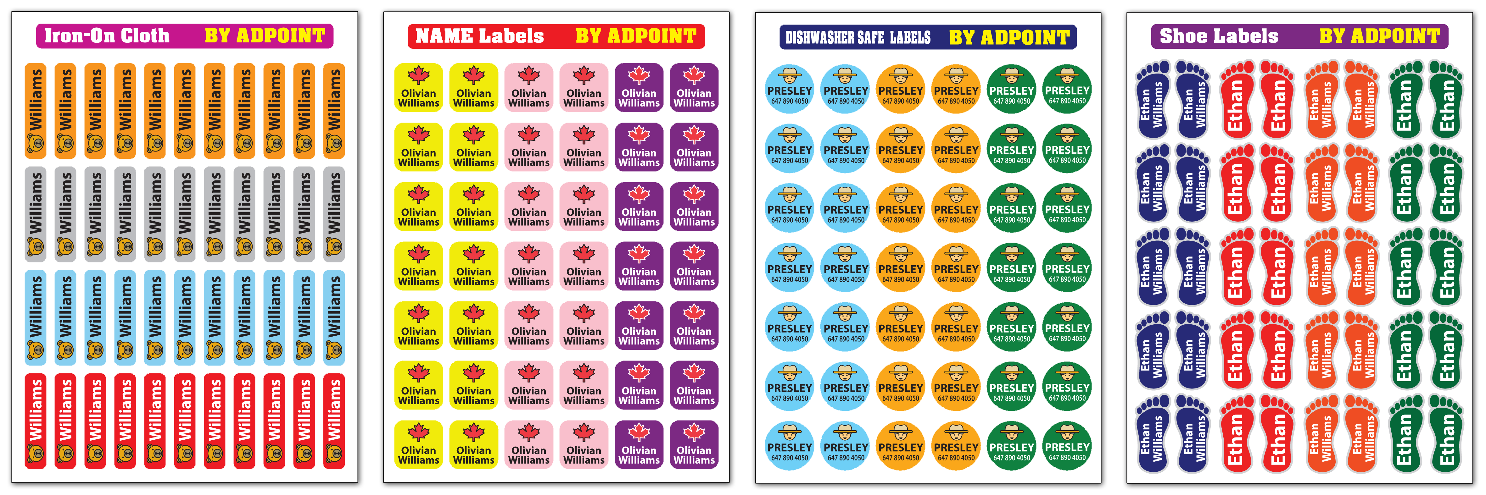 Free Label Sample - Adpoint Promotional Products Inc.